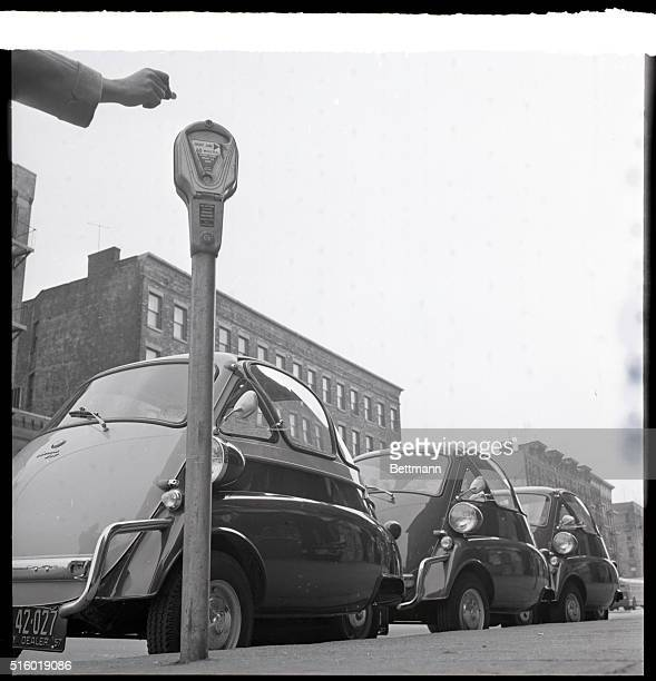 3/19/1957New York NY Beating the meter and parking three cars on a dime is a trick that may send the cops searching through the traffic rules This...