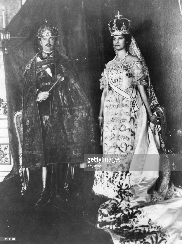 Imperial Coronation : News Photo