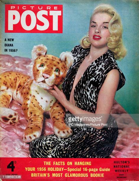 English film actress and singer Diana Dors is featured for the cover of Picture Post magazine. Original Publication: Picture Post Cover - Vol 69 No...