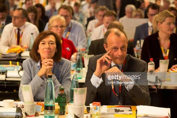 31st Federal Party Congress of the CDU in Hamburg Dicision to the party chairmanship between Annegret KrampKarrenbauer Friedrich Merz und Jens Spahn...