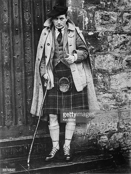 English author and screenwriter Sir Compton Mackenzie who found much of his inspiration in Scotland, his adopted home. Mackenzie worked as a soldier,...
