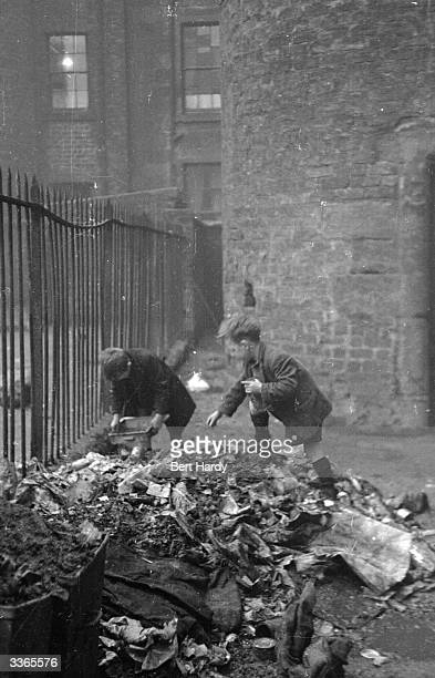 Glaswegian children playing on a rubble heap in the Gorbals The Gorbals tenements were built quickly and cheaply in the 1840s providing housing for...
