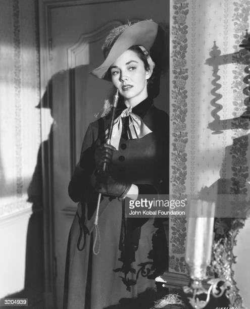 Jennifer Jones plays Flaubert's tragic heroine in 'Madame Bovary' directed by Vincente Minnelli for MGM