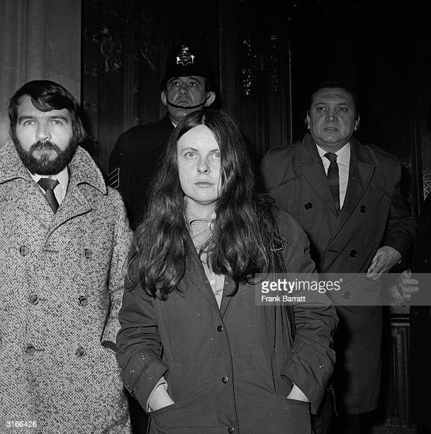 Independent Unity MP for MidUlster and the youngest MP in Britain Bernadette Devlin outside the House of Commons in London after she punched Home...