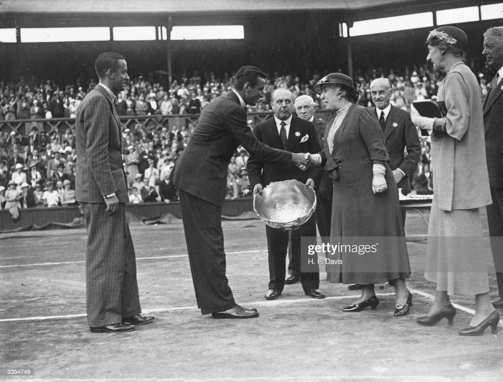 Perry's Davis Cup : News Photo