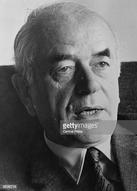 Albert Speer former chief architect under Adolf Hitler and Nazi who pleaded guilty to war crimes