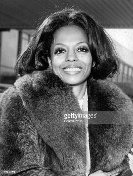 ExSupreme American soul pop singer Diana Ross who stars as singer Billie Holiday in the film 'Lady Sings The Blues' based on Holiday's tragic life...