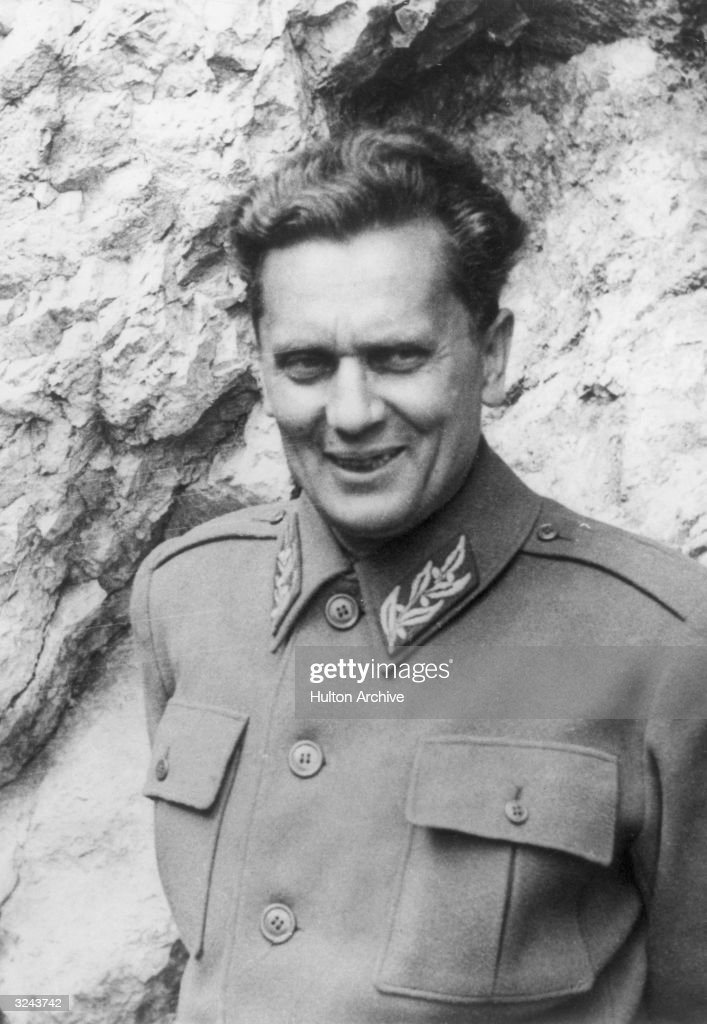 Marshal Tito : News Photo