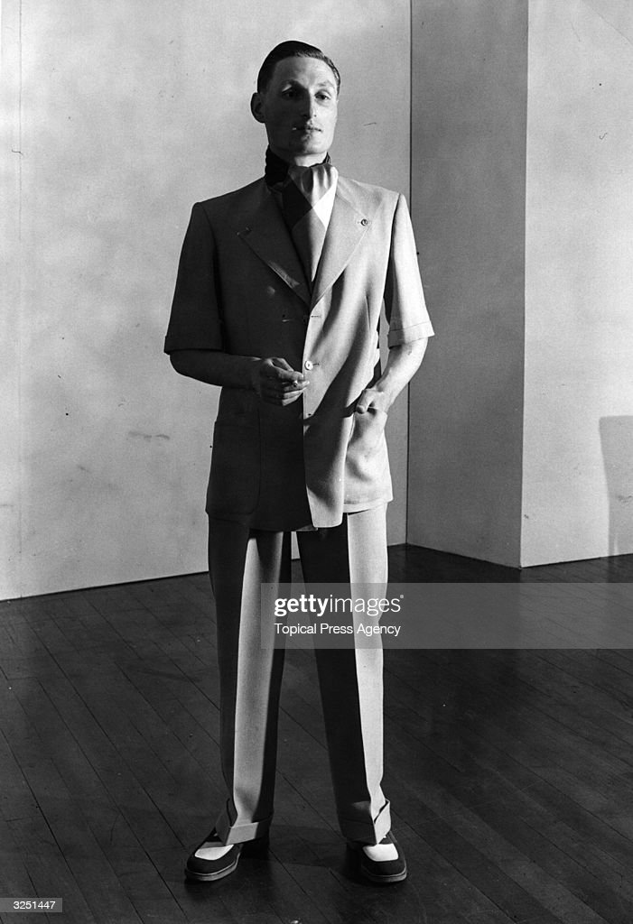 A Beach Suit In Rayon By Austin Reed Of Regent Street Which Can Be News Photo Getty Images