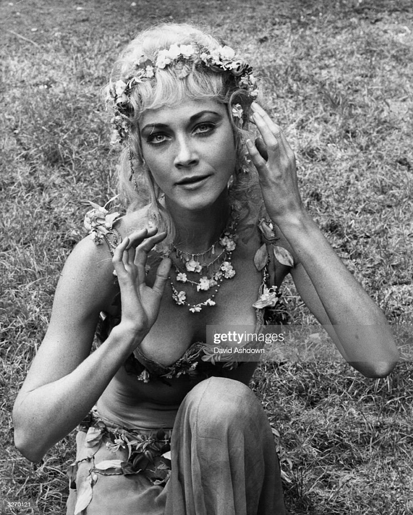 Linda thorson pictures getty images linda thorson in her costume as titania in shakespeares play a midsummer nights thecheapjerseys Images