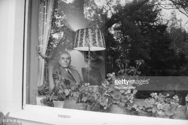 German architect and former government official Albert Speer at his home at Heidelberg