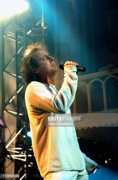 31st OCTOBER: singer Marco Borsato performs live on stage at Paradiso in Amsterdam, Netherlands on 31st October 1997.