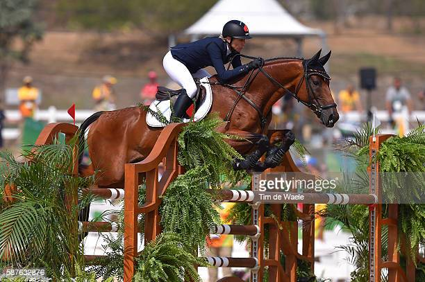 31st Rio 2016 Olympics / Equestrian Ingrid KLIMKE / Eventing Team Jumping / Olympic Equestrian Centre / Summer Olympic Games /