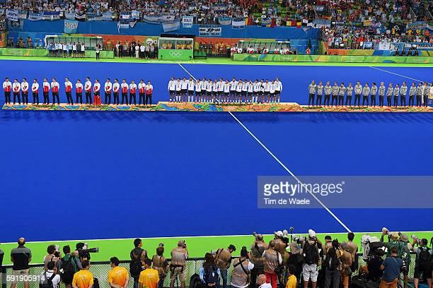 BEL ARG Men's Gold Medal Match Team BELGIUM / Tom BOON / Simon GOUGNARD / Cedric CHARLIER / Loick LUYPAERT / Sebastien DOCKIER / John John DOHMEN /...