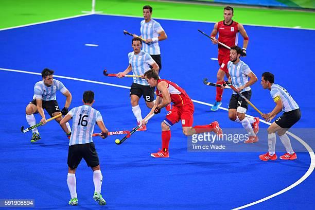 31st Rio 2016 Olympics / Hockey : BEL - ARG Men's Gold Medal Match Tom BOON / Olympic Hockey Centre / Summer Olympic Games /