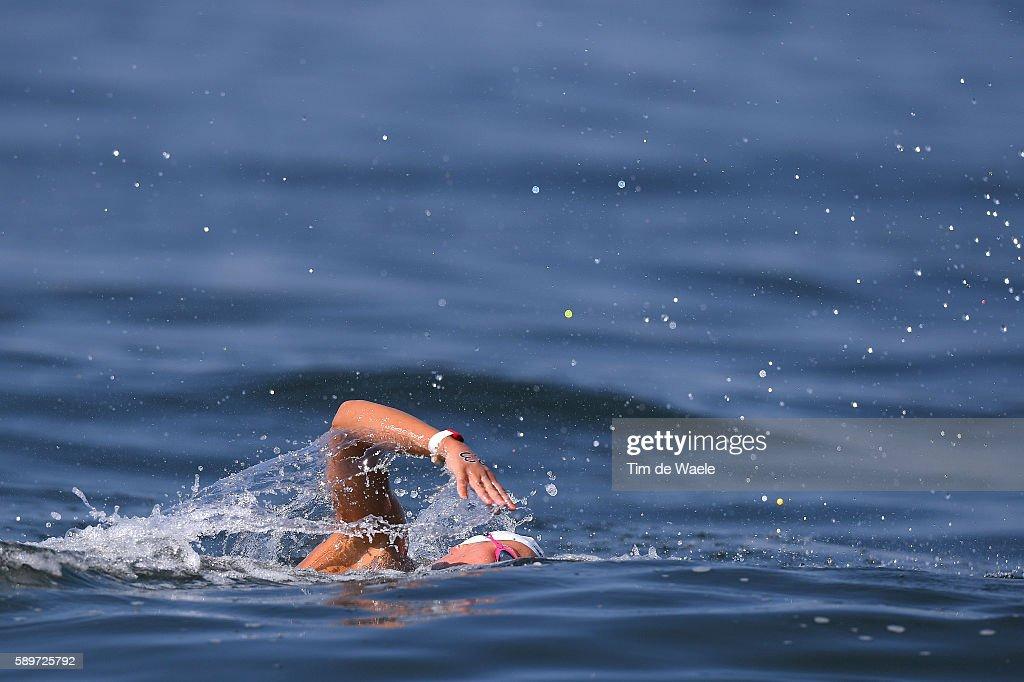 31st Rio 2016 Olympics / Marathon Swimming Women's : News Photo