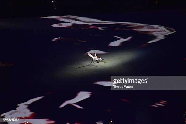 31st Rio 2016 Olympics / Opening Ceremony Illustration / Capoeira dancer / Olympic / Artist Figurant / Maracana stadium / Summer Olympic Games / Tim...