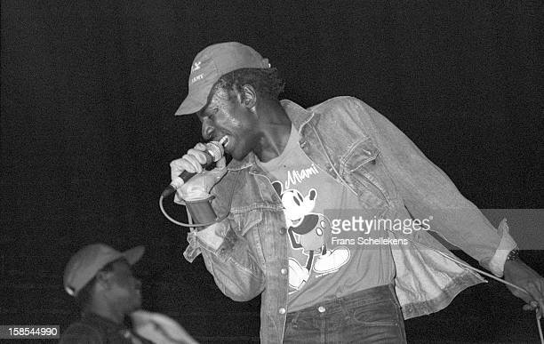 31st: Singer Alpha Blondy performs live on stage in Lille, France on 31st March 1987.