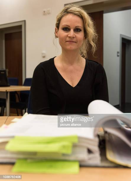 31yearold Felicitas Rohrer sits in the regional court in WaldshutTiengen Germany 17 December 2015 She wants around 200000 euros in compensation for...