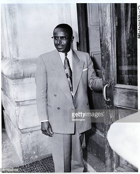 3/21/56Montgomery Alabama John H Garrison who was indicted on February 22 for his work in organizing a car pool to aid the boycott of segregated...