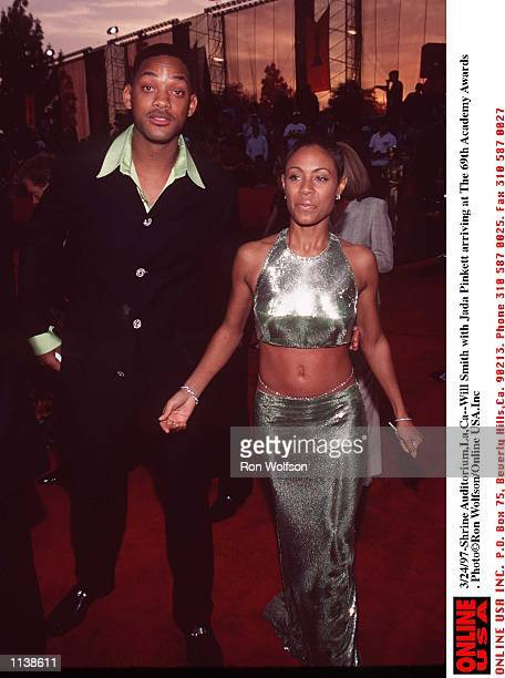 3/24/97Will Smith with Jada Pinkett arriving at the 69th Academy Awardsat the Shrine Auditorium