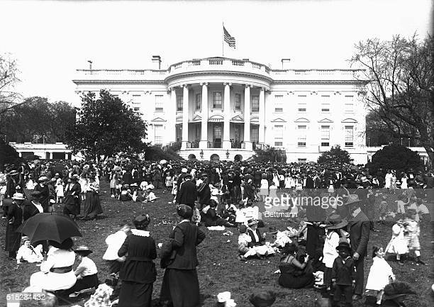 3/28/1921Washington DC Thousands of Washington children and parents took posession of the White House lawns yesterday to take part in the greatest...