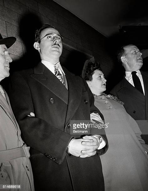 3/29/1951Julius and Ethel Rosenberg during their espionage trial