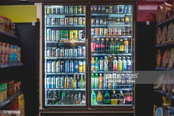 32.convenience store - convenience store interior stock photos and pictures