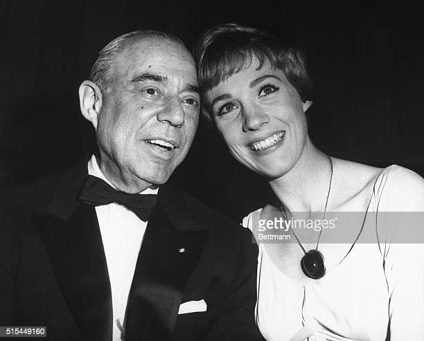 3/3/1965New York NY Richard Rodgers composer of The Sound of Music and lovely Julie Andrews who stars in the movie version of the Broadway musical...