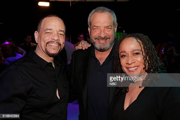 EVENTS 33rd Annual PaleyFest An Evening with Dick Wolf Pictured IceT Dick Wolf Creator and Executive Producer S Epatha Merkerson at PaleyFest LA 2016...