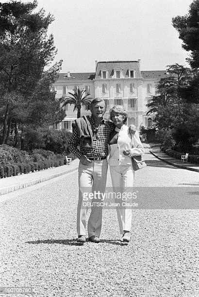 33rd Cannes Film Festival 1980 En France en mai 1980 l'acteur de Kirk DOUGLAS président du jury de la trentetroisième édition du Festival de Cannes...