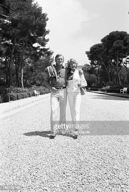 33rd Cannes Film Festival 1980. En France, en mai 1980, l'acteur de Kirk DOUGLAS, président du jury, de la trente-troisième édition du Festival de...
