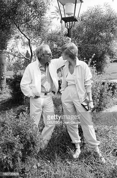 33rd Cannes Film Festival 1980 En France en mai 1980 lors de la trentetroisième édition du Festival de Cannes l'acteur Peter SELLERS avec son épouse...