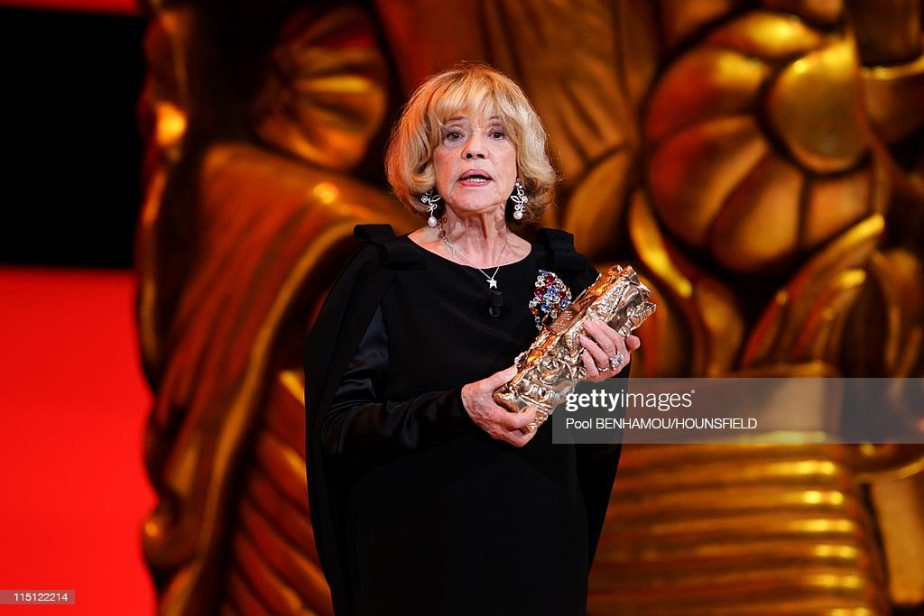 33Rd Cesar Awards Ceremony At The Theatre Du Chatelet In Paris, France On February 22, 2008. : News Photo