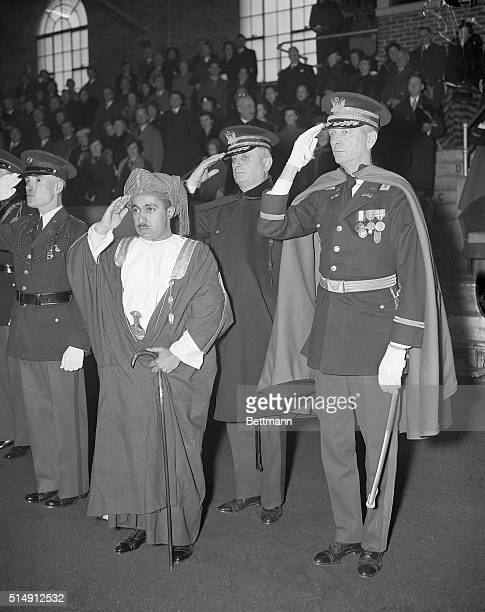 3/4/1938Fort Myer VA The 27yearold Sultan of Muscat and Oman ruler of a land of 82000 square miles on the southwestern tip of the Arabian Peninsula...