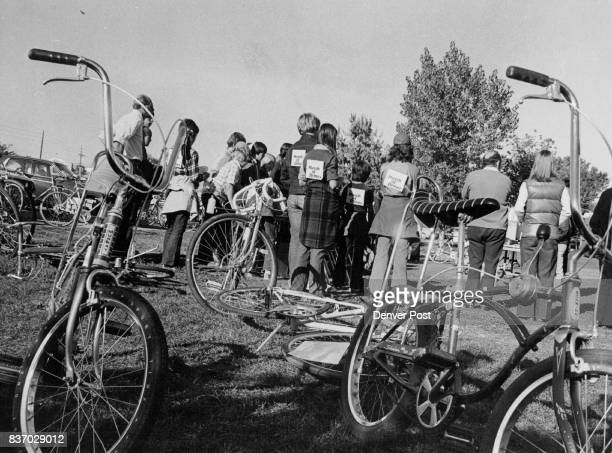 A 35mile Arvada loop was one of 5 ridden by bicyclists Sunday for the March of Dimes Above participants hear proclamation read by Arvada Mayor Don...