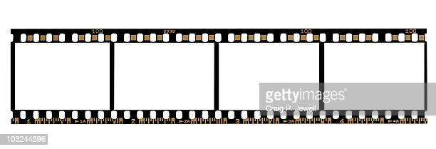 35mm Negative Film Strip (With Clipping Paths)