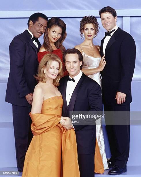 LIVES 35th Anniversary Pictured James Reynolds as Abe Carver Renee Jones as Lexie Carver Deidre Hall as Dr Marlena Evans Black Drake Hogestyn as John...