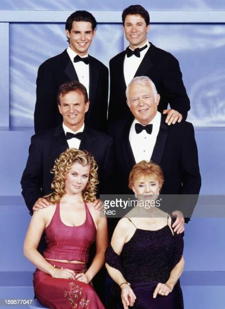 LIVES '35th Anniversary' Pictured Jason Cook as Shawn Douglas Brady Peter Reckell as Bo Brady Josh Taylor as Roman Brady Frank Parker as Shawn Brady...