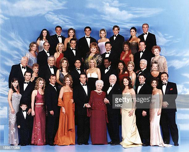 "35th Anniversary"" -- Pictured: Julianne Morris as Greta VonAmberg, Taylor Carpenter as Will Roberts, Austin Peck as Austin Reed, Alison Sweeney as..."