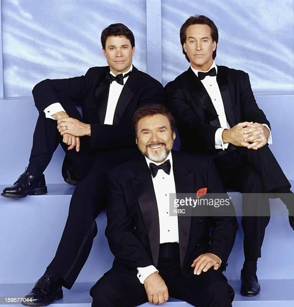 LIVES 35th Anniversary Pictured Peter Reckell as Bo Brady Joseph Mascolo as Stefano DiMera Drake Hogestyn as John Black