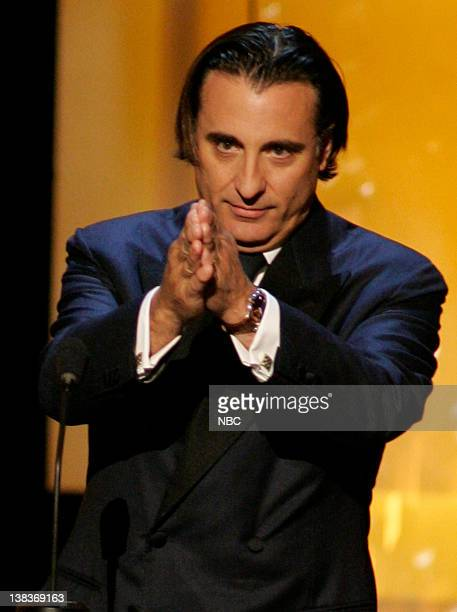 A TRIBUTE TO AL PACINO Pictured Actor Andy Garcia on stage during the '35th Annual AFI Life Achievement Award A Tribute to Al Pacino' held at the...