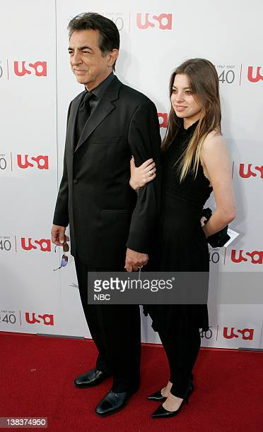 A TRIBUTE TO AL PACINO Pictured Actor Joe Montegna and daughter Gina Montegna arrives at the '35th Annual AFI Life Achievement Award A Tribute to Al...