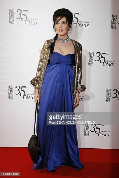 35th Cesar Awards Ceremony Arrivals In Paris France On February 27 2010Isabelle Adjani
