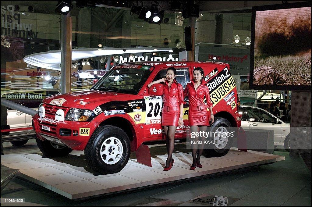 35Th Tokyo Motor Show In Tokyo, Japan On October 24, 2001. : News