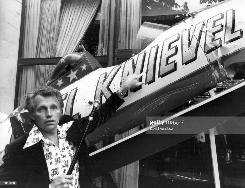 Evel Knievel : News Photo