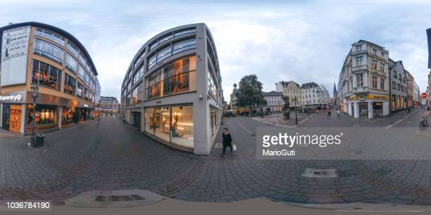 360-degree view of a shopping area in Bonn, Germany