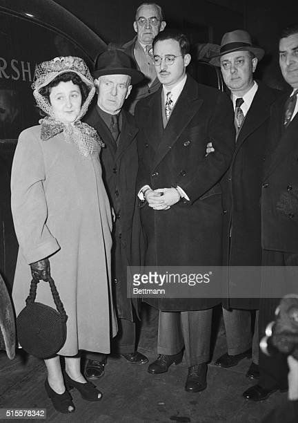Julius Rosenberg and his wife Ethel arrive at Federal Court March 6 for the opening of their trial on charges of conspiracy to commit espionage by...
