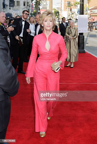 A TRIBUTE TO WARREN BEATTY Air Date Pictured Actress Jane Fonda attends the 36th Annual AFI Life Achievement Award tribute to Warren Beatty held at...