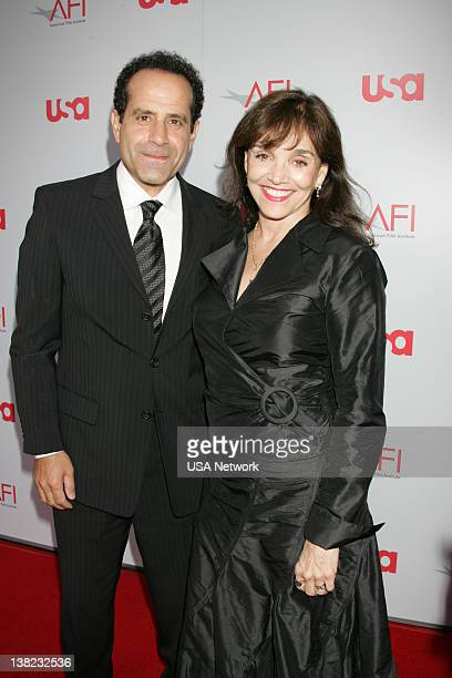 A TRIBUTE TO WARREN BEATTY Air Date Pictured Actor Tony Shalhoub and actress Brooke Adams during the 36th Annual AFI Life Achievement Award tribute...